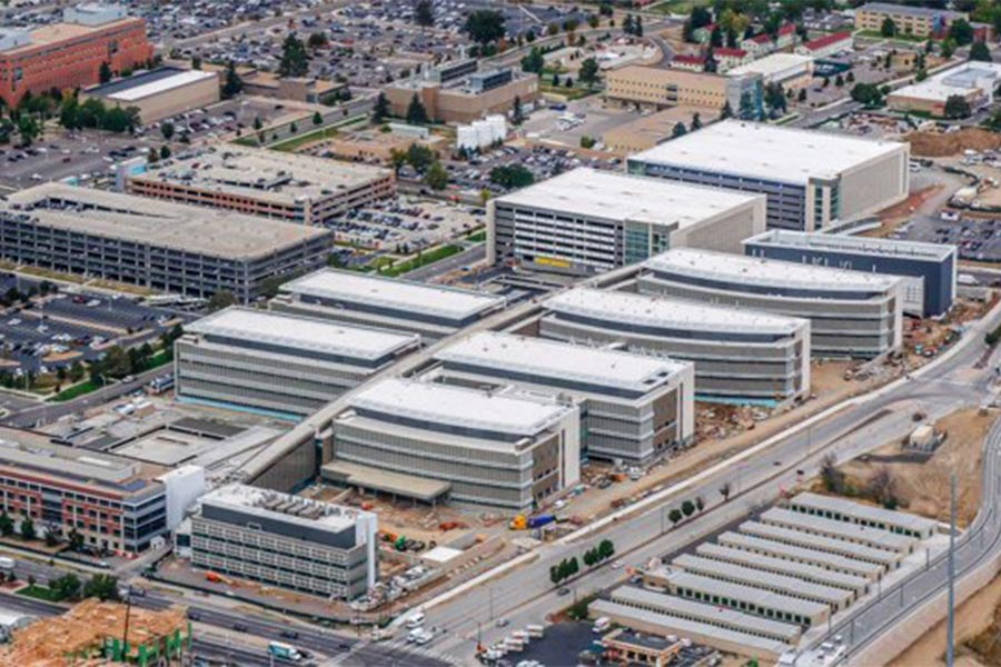 Denver VA Replacement Medical Facility Exterior
