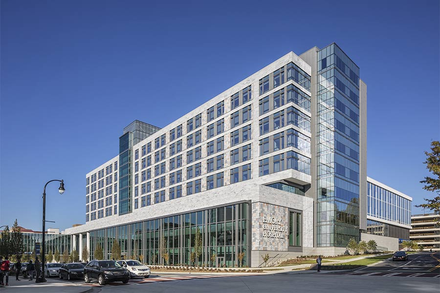 Emory Healthcare J Wing Exterior