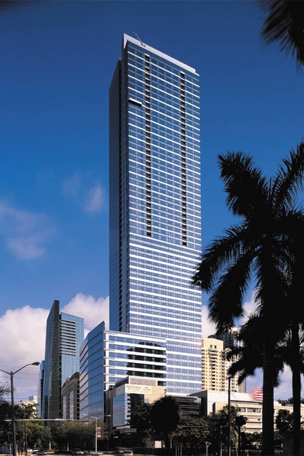 Miami Four Seasons Building Exterior