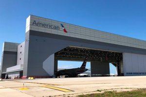 Front of American Airlines Hanger II