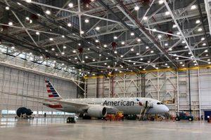 American Airlines Hanger II Airport Interior