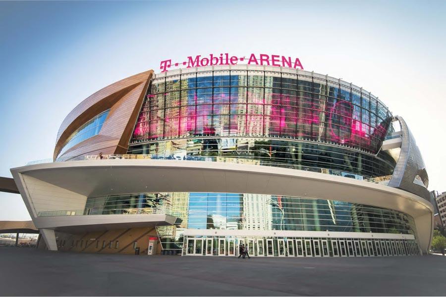 T Mobile Arena Exterior