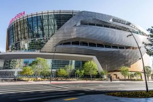 T Mobile Arena Side Exterior