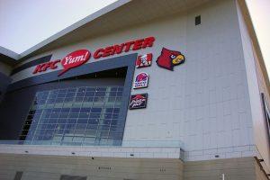 KFC Yum! Center Logo Panel