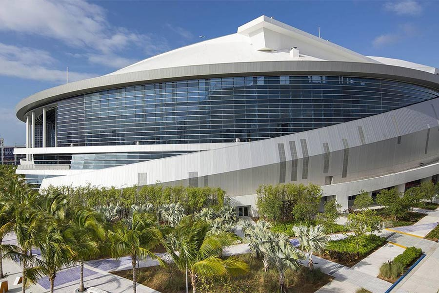 Marlins Ballpark Exterior