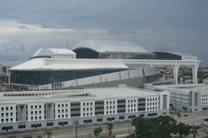 Marlins Ballpark Stadium Exterior