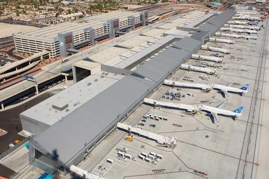 Top View of McCarran International Airport