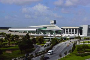Top View of Miami International Airport