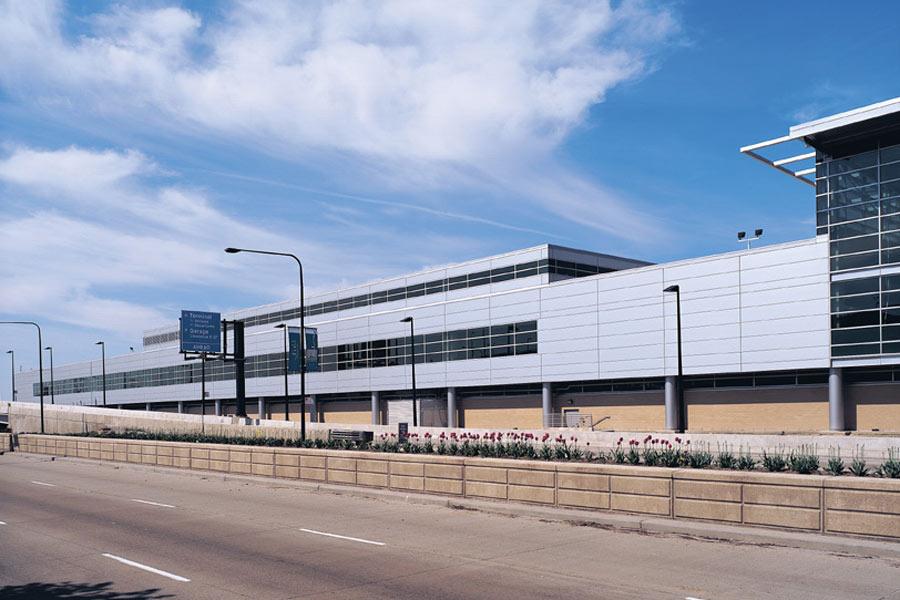 Midway Airport Terminal Exterior