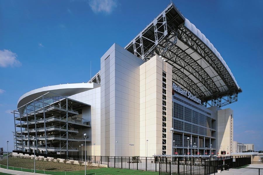 Reliant Stadium Side Exterior